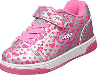 31 Eu pink Herz 778047 Baskets Heelys Fille Dual silber Multicolore Up zqgx7S