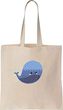 Beluga Prints Tote Baby Bag Finest Canvas Cute Ocean Cotton In Little A Wavy ZdP6Iq