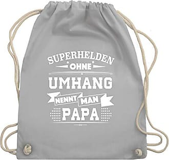 Unisize Wm110 Ohne Bag Statement Umhang Shirtracer Hellgrau Gym ShirtsSuperhelden Papa Turnbeutelamp; PikXZTOu