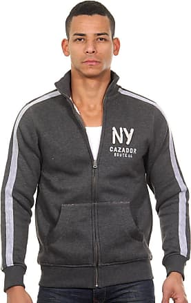 Grau Regular Sweatjacke Cazador Anthrazit Fit wS8AqU