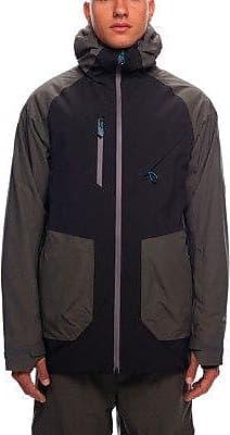 686 Hydrastash Black Insulated Colorblock Jacket Glcr Tcl1FJK