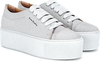 In Acne Studios Sneakers Pelle Con Platform Drihanna N8mv0wn
