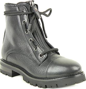 Boots Zip Noires Et Agl Lacets dzCpw6xdnq