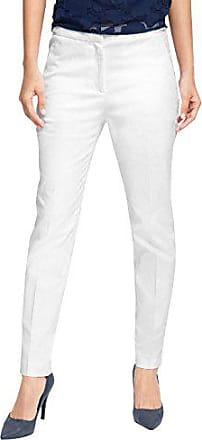 Blanc blanc W29 Pantalon stretch 046eo1b003 100 Esprit l32 Femme gqIWH