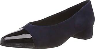 dark Tacón Eu Zapatos Vagabond Azul Con De Mujer Para Cerrada 41 Punta black 95 Alicia Blue qt11RUv