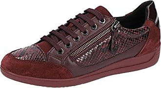 Femme dk Sneakers bordeaux A D Burgundy Basses Eu Myria C7b7j Rouge Geox 37 nOAwHUFqq