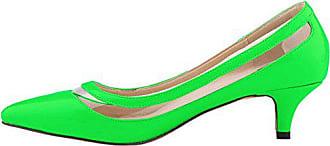 Middle Low Spitze 39 For Merumote Heels Schuhe Eu Grün Damen Heel merumote Pumps AXdPCqPw