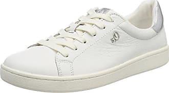 Eu 39 white Femme oliver 23625 S Nappa Blanc Sneakers Basses HqwzqO8