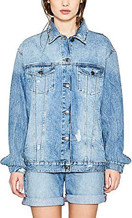 Medium blue 057ee1g013 902 Esprit Bleu Jean Small Wash Veste Femme CqY6n