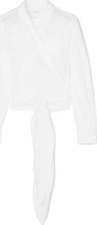 Blanc Rayures Coton coeur Cache Jacquard Haut Casasola En À De zfY44q