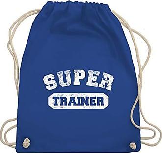 Bag Gym Turnbeutel Super amp; Vintage Shirtracer Wm110 Fußball Trainer Unisize Royalblau FwnqwagpvP
