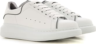 Mcqueen 2017 White For 40 Alexander Sneakers Women Leather 1WSqwxFZR