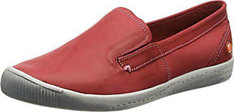 Femme 42 Washed red Mocassins Ita298sof Eu Softinos Rot tUwqSxw