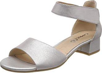 Eu Bride silver Argent 28212 Femme Sandales Metal Cheville 920 Caprice 39 vxn6RPwHx