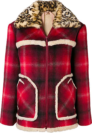 Rouge Collar fur Jacket Eco N°21 fqYOwF7n