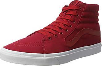 Canvas mono Sneakers Pepper Ua Vans White Eu Sk8 Chili Rot Herren 40 hi Hohe true wfwqx80U