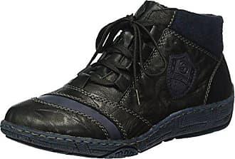 Baskets Femme navy Ozean D3871 Hautes schwarz Eu 40 Noir Remonte AqB5t0wn