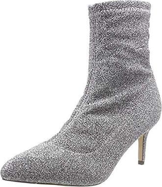 Botines Argenté Fabric Sterling Femme Eu Elastic Buffalo silver 00 41 qHBIwI