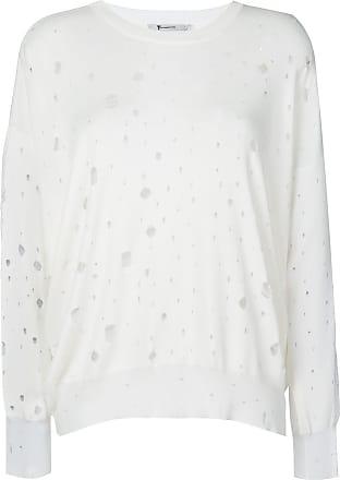 Blanc Oversize Alexander Effet À Pull Usé Wang wqxRAgx6
