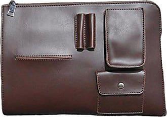 Handtasche brown Tasche Paket Gkkxue Männliche Offizielle Mode Atmosphäre Freizeit Retro Einfache onesize Geschäft xoBWQderC