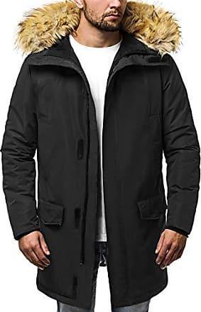 285k Warm Parka Coat Ozonee 777 Modern Schwarz Täglichen Wintermantel Wärmemantel Winterjacke Jacke 2xl Herren Kapuzenjacke Wärmejacke 0PwZN8nOkX