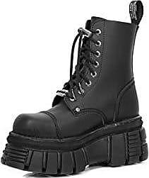 Vegan Shoes Bikerstiefel Schwarz Stiefel Gothic Newmili New Schuhe 40 Rock Boots Eu n68qxfna1w