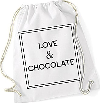 Freak And Certified Chocolate Love White Gymsack 0OkNP8ZnwX