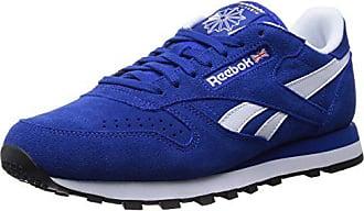 Herren Reebok gold Met Blau collegiate Leather 47 Suede Low white black Eu top Classic Royal ZTTrnd