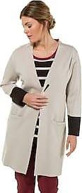 Ulla Damen LongcardiganDoubleface strickOffene 44Mode In Größen Popken FormSelectionKieselsteinGr42 Großen 0w8PknOX