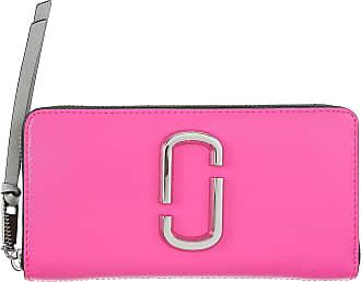Size Geldbeutel Portemonnaie Damen 2017 Brieftasche Jacobs Marc Leuchtend Geldbörsen Leder One Für Pink p7pYq