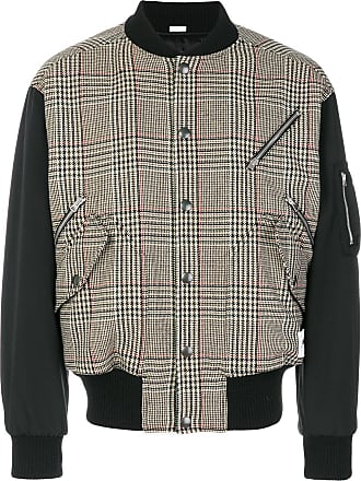 Wool Mccartney Stella Webster Checked Mens Brown Bomber The Blend Jacket U7IwF7