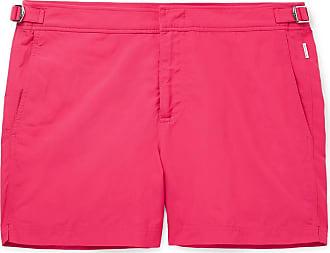 Pink Brown Swim Mid length Orlebar Bulldog Shorts xYqdICI4wn