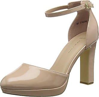 Zapatos Wide Supped De Punta Con Foot Mujer Look 14 oatmeal Para Tacón Beige 39 New Cerrada Eu 5qInfw4Hx5