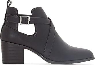 Pied Boots Noir Talon Ajourées 45 38 Large Castaluna À wIOdZFxqZz