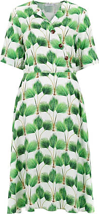 Printed Isolda Blanc Dress Ohana Ohana Isolda CawaHgBq