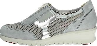 Cinzia Ie9834l Petite Femme Sneakers 004 Gris Soft vrqx5v