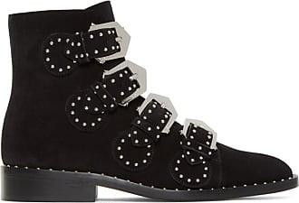 Bottes Elegant Givenchy Noires Suede En Line 4ZaTcqpw