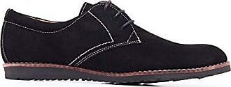 Blucher Serraje Casual Piel Zapato Hombre Negro De Castellanísimos zXR5fq