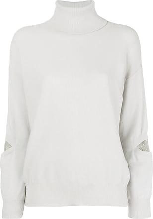 0iq0w Filippi Fabiana Beaded Elbow Sweater Turtleneck Gris x1wq77zO
