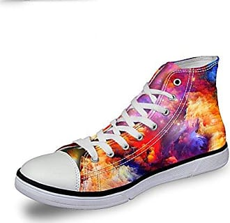 Lady Streetwear Chaqlin Casual Space Harajuku Schuhe 37 Sneaker F¨¹r Reisezeit Printed Gre OnP8w0k