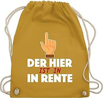 Wm110 Der Rente Turnbeutel Hier Sprüche Bag Gym Senfgelb In Shirtracer Unisize Ist amp; XgB8n5H