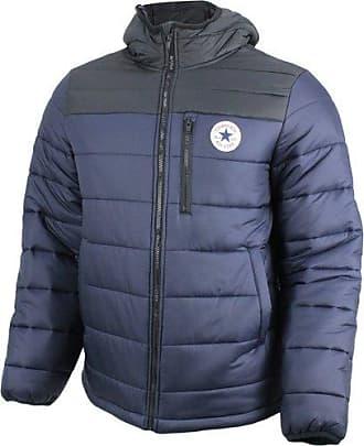 Para Jacket Fill dark Converse Core Poly Hombre Obsidianblack Chaqueta Azul wtRWXqB