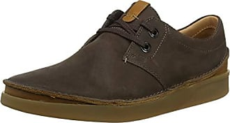 Braundark Eu Clarks Herren Leather42 Oakland Derbys Brown Lace y7Ybvgf6