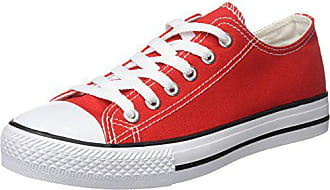 De Chaussures Eu Canvas Rouge Beppi 39 Red Femme Fitness HEA6nwxq