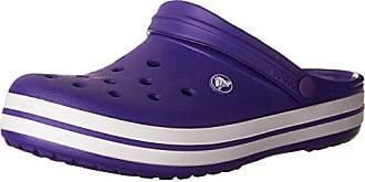 41 ultraviolet Crocs white 42 Eu Violet Sabots Crocband Mixte Adulte arq8X0Fq