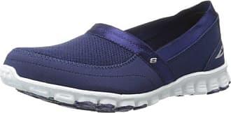 navy Zapatillas De Take 36 Talla Azul Color Para white Deporte Ez easy Skechers Flex it Mujer blanco YUqwOU