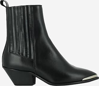 Noir Boots Cuir Jonak En Boum wRzcCT
