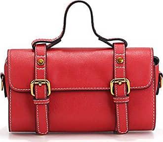 Bfmei Retro onesize Handtasche Diagonal red Paket Tasche paket Schulter Kleine Quadratische rrqaP