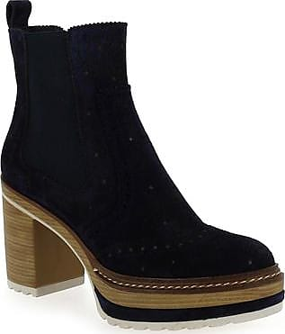 Boots B Femme Pons Quintana Bleu Oliu 006 Pour 7220 fSx4aw