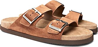 Suede Cucinelli Sandals Cucinelli Brunello Suede Brown Brunello I7wpqvpn8